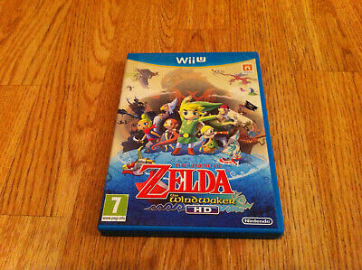 Nintendo Wii U The Legend of Zelda WindWaker HD
