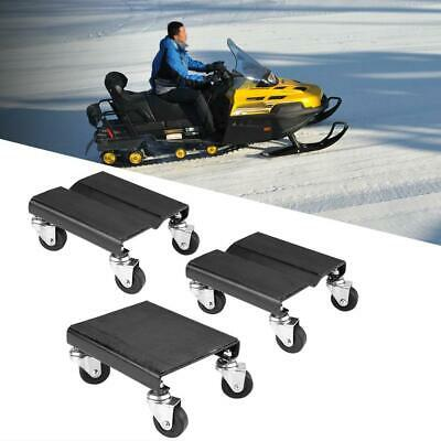3Pcs Tire Car Dolly Auto Repair Snowmobile Moving Dollies Set 1500lbs Capcity SS