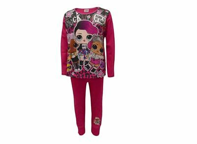 Licensed Girls LOL Surprise Dolls Long Pyjamas Pjs Age 4-10 Years Born To Be Bad