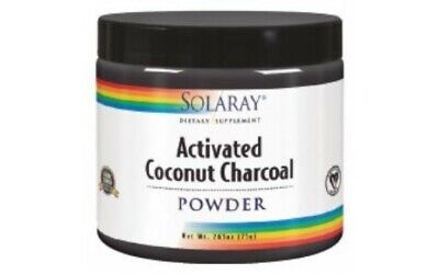 Charcoal Coconut Activated Carbon Activo 150Gr. - Solaray