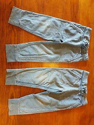 2 Pairs Of Boys Trousers track suit bottoms 3 Years By Gap