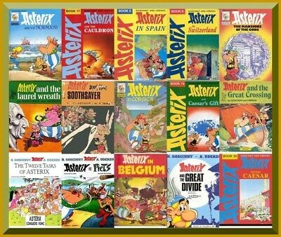 Asterix Collection - PDF Format - 48 Books – Digital Download