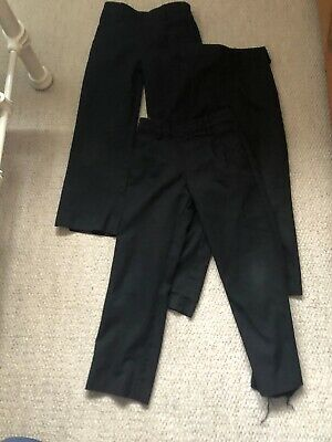 X4 Pairs David Luke Boys School Trousers Age 5-6