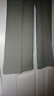 New Look 915 Age 14 Girls Smart Soft Grey Trousers wide leg turn up dress trouse