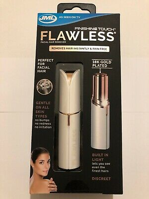 New! JML Finishing Touch Flawless Facial Hair Remover New!