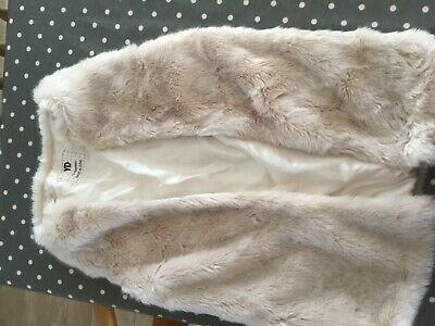faux fur gillet 13-14 years