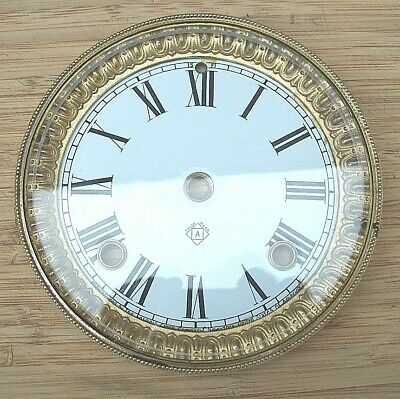 Excellent Genuine Ansonia Clock Dial and Bezel Circa 1890