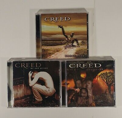 Creed  CD Lot Of 3 - All Original CD's, Great Condition