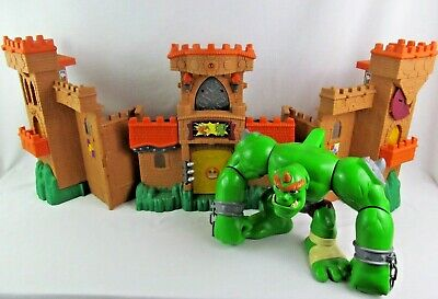 Fisher Price Imaginext Eagle Talon Castle Working Ogre Play Set Child Toy