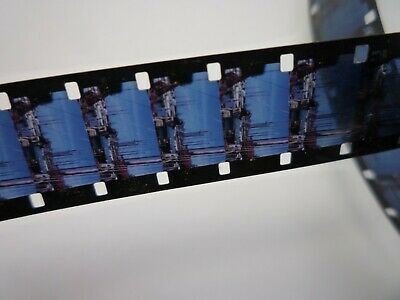 Vintage archive 16mm colour film '1940s CARS AND SHIPS' 100 foot reel