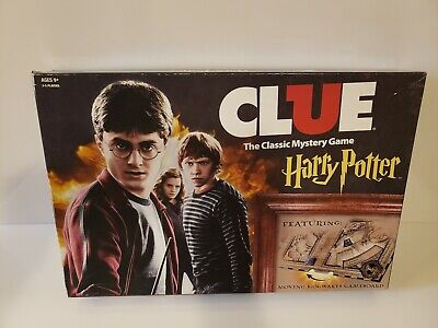 Harry Potter Clue The Classic Mystery Board Game Open Box NM