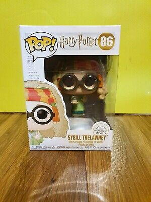 💕💖 Harry Potter Funko Pop Professor Sybill Trelawney #86 + Protector 💖💕