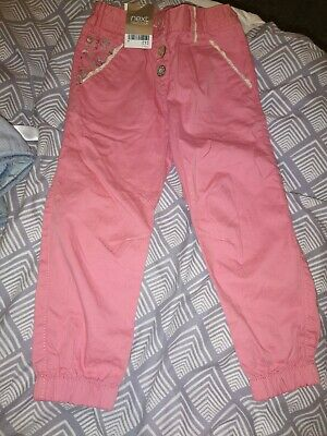 Bnwt Chinos Trousers Next Pink 3-4 Years