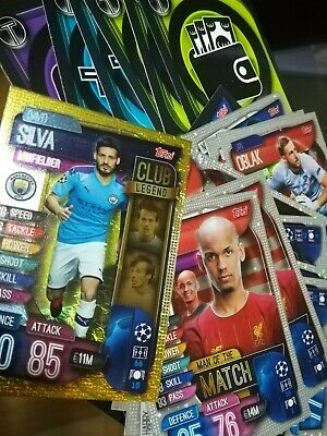 Champions League Topps Match Attax (19/20 - 2019/2020) Special Cards A Scelta