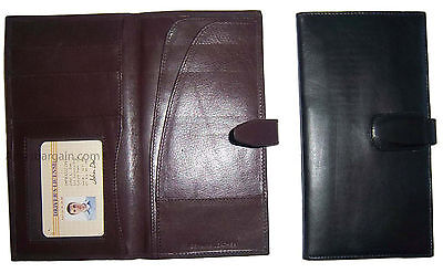 New women/men's document organizer passport ID airline ticket checkbook ATM card