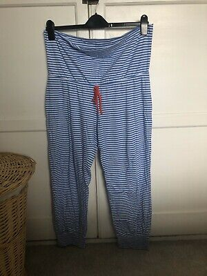 Mothercare Blooming Marvellous Maternity Striped Pyjama Bottoms (L) Sleepwear
