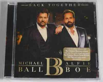 Michael Ball & Alfie Boe Back Together Cd Cirlce Of Life/ My Way *Gr8*