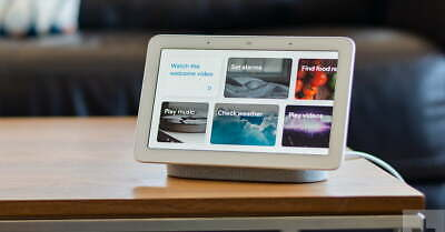 USED- Google Home Hub with Google Assistant GRAY