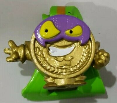 Superzings Serie 4 Gold Medalla Oro Bad Price Rare New