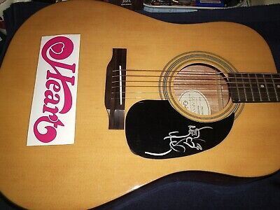 Heart Nancy Wilson Signed Acoustic Fender Guitar Starcaster  Rare! L@@K Wow! New