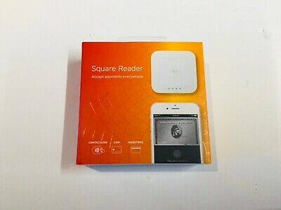 New Square A-SKU-0113 Contactless Credit Card and Chip Reader - White FREE SHIP