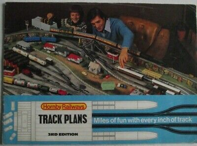 HORNBY Model Railways Track Plans 3rd Edition 1975 **Free P & P**