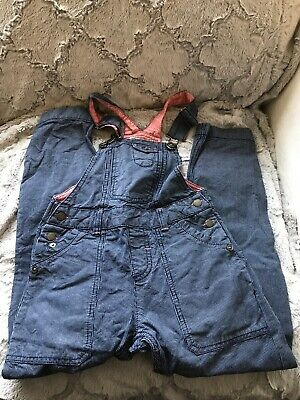 Girls Fat Face Dungarees Aged 8