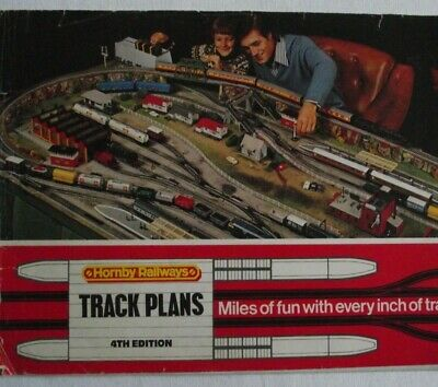HORNBY TRACK PLANS 4TH EDITION 1976 **Free P & P**