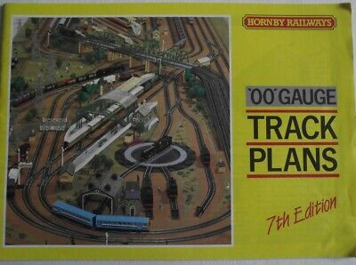 HORNBY RAILWAYS TRACK PLANS  7TH EDITION 1988 **Free P & P**