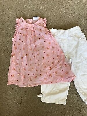 Gorgeous Girls 2 Piece Summer Set From Next Age 2-3 Years