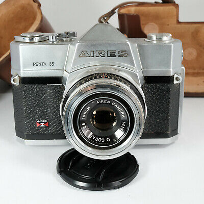 Vintage Aires PENTA 35 35mm Camera / Leather Case