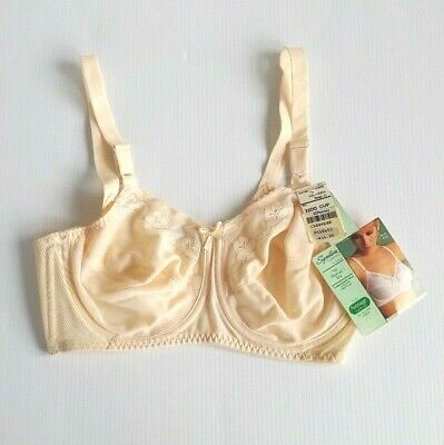 Vintage JCPenny Underwire Bra 32DD Beige Signature Collection All Woman 4035