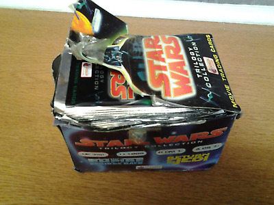 Star Wars Original Trilogy -  Trading Cards 1997  43   sealed packets