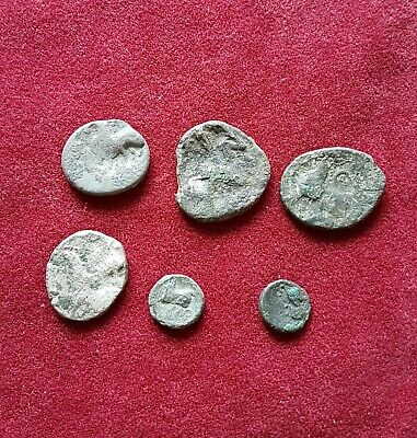 Lot Of Ancient Authentic Celtic Coins