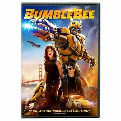 TRANSFORMERS: BUMBLEBEE (DVD, 2019) New Sealed Free Shipping included!