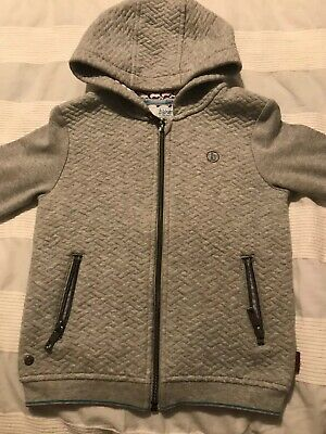 Designer Ted Baker Boys Girls Hoodie Hooded Top Age 3-4
