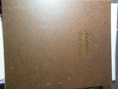 Dansco Supreme Halfpenny Coin Album  Used But Top Condition