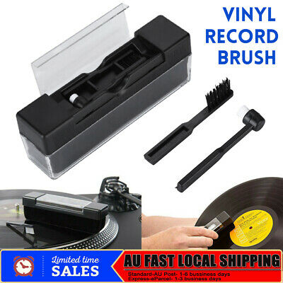Vinyl Record Cleaning Kit Velvet Brush Cleaner Anti Dirt Dust Brush Cleaner AU