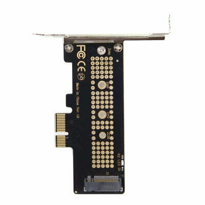 Low Profile PCI-E 3.0x4 Lane to M.2 NGFF M-Key SSD Nvme AHCI PCI Express Adapter