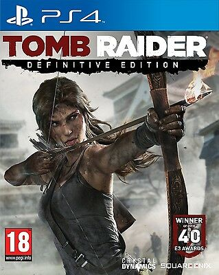 Tomb Raider: Definitive Edition for Playstation 4 PS4 - Preowned - FAST DISPATCH