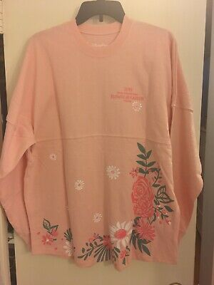 NWT Disney Parks EPCOT Flower and Garden Festival 2019 Floral Spirit Jersey LG