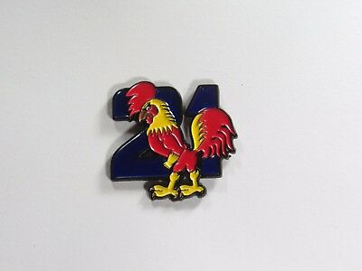 21st Construction Squadron + RAE Corps 34mm 2 pin Lapel Badge  Anzac Day
