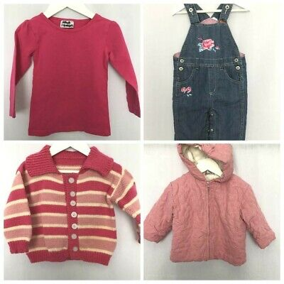Baby Girls Lot Size 1 Pumpkin Patch Dymples Casual Winter #G231