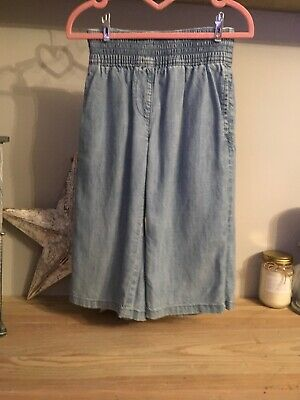 Cute Next Girls Jean Look Culottes Age 5 ...good Condition, £17 To Buy New