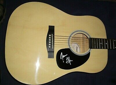 James Taylor Signed Acoustic Fender Guitar Starcaster  Rare! L@@K Wow! New
