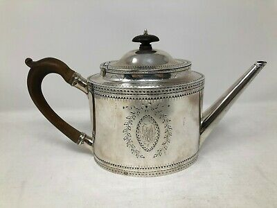 Robert Hennell I London Sterling Silver Teapot 1785