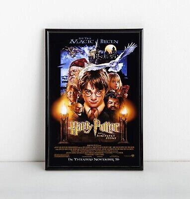Harry Potter and The Sorcerer's Stone Movie Poster (2001) - NEW - 11x17 13x19