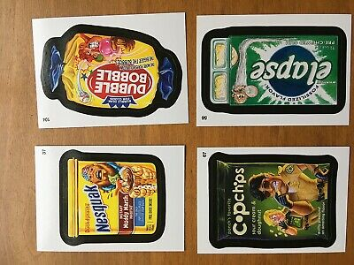 2015 Topps Wacky Packages Stickers Complete Set 110 Cards