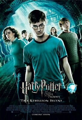 Harry Potter and The Order of The Phoenix Movie Poster (2007) NEW - 11x17 13x19