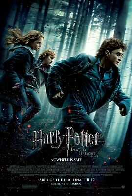 Harry Potter and The Deathly Hallows - Part 1 Movie Poster (2010) - 11x17 13x19